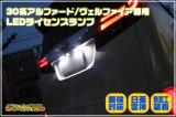 30系アルファード/ヴェルファイア専用 日亜雷神LEDライセンスランプ