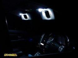 画像1: 30系ハリアー専用LEDバニティランプ
