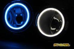 画像2: LEDエンジェルアイ内蔵フォグランプ