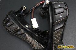 画像3: ステアリングS/Wパネル リアルカーボン加工
