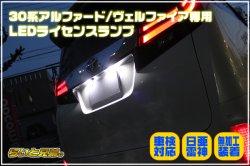 画像1: 30系アルファード/ヴェルファイア専用 日亜雷神LEDライセンスランプ