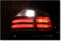 雷神9灯マルチバルブ バックランプ使用例